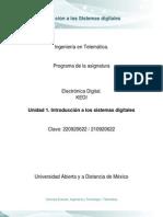 Unidad 1. Introduccio n a Los Sitemas Digitales