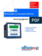 Manual do multimedidor de grandezas elétricas ST9250R