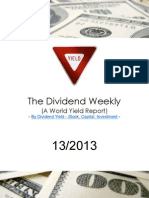 Dividend Weekly 13_2013