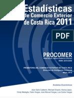 Estadisticas Comercio Exterior de Costa Rica