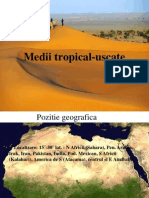 Medii Tropical Uscate