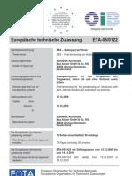 ETA 05 0122 Deutsch Stabspannverfahren St 950 1050