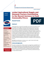 Global Agricultural Supply and Demand