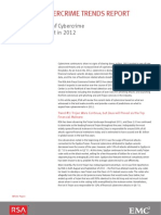 Rsa 2012 Cybercrime Trends Report