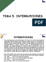 Tema 5. Interrupciones