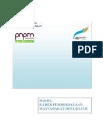 Draft Modul KPMD Dasar
