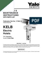 Yale KELB Manual