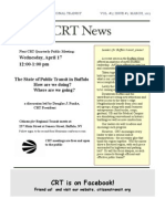 CITIZENS FOR REGIONAL TRANSIT News