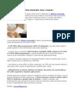 Marco Filippini, l'Anno Europeo contro il dolore 2012-2013 è dedicato al dolore viscerale