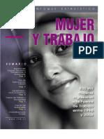 800 Mil Mujeres Se Han Integrado a La Fuerza Laboral Entre 1996 y 2006