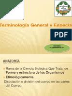 Anatomía Términos-Clase I