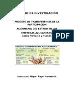 INVESTIGACIÓN_INDUSTRIA AZUCARERA EN EL PERU