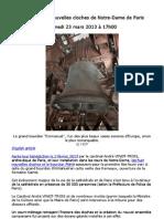 Inauguration Des Cloches de Notre Dame de Paris