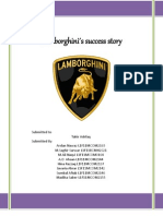 Lamborghini´s Success Story