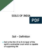 Soil of India