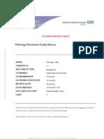 Pathology Quality Manual
