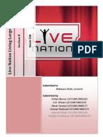 Live Nation Living Large Case Study