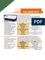 Especificaciones Tecnicas Polarimetro Modelo Ap810-850