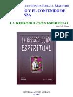 La Reproduccion Espiritual