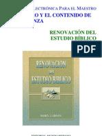 Renovacion Del Estudio Biblico
