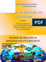 Portafolio de Desarrollo de Aplicaciones de Una Organizacion.