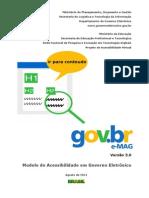 e-MAG V3 - modelo de acessibilidade do governo eletrônico