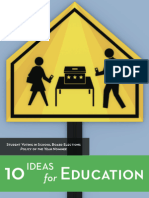 10 Ideas for Education, 2013