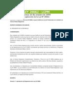 D.S.003-2008.reglamento LEY 29062