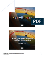 Advanced WAN Concepts and Troubleshooting