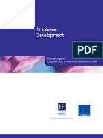 Employee Development Survey Report - a Study by Shrm and Catalyst