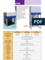 Especificaciones Tecnicas Fume Hood