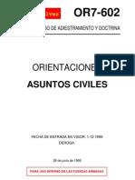 Or7-602 Asuntos Civiles
