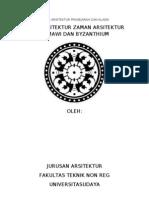 Tugas Arsitektur Prasejarah Dan Klasik