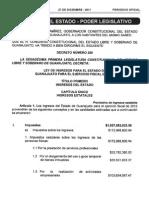 Ley Ingresos 2012