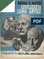 Matei, Horia C - Civilizatia lumii antice.pdf