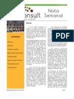 Nota Semanal 30-03-13
