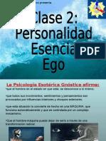 Conf. 2 Personalidad, Esencia y Ego