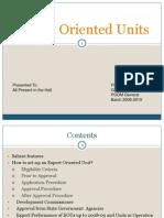 Export Oriented Units