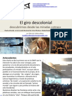 el giro descolonial en el arte, charla en la ENAP y Baúl Blanco