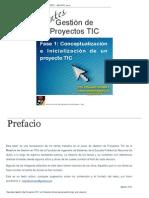 Gestión de Proyectos de TIC eBook