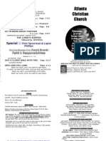 March 17, 2013 Church Bulletin
