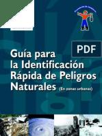 Guía para la identificación rápida de de peligros naturales en zonas urbanas