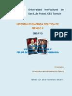 Ensayo Vicente Fox y Felipe Calderon2
