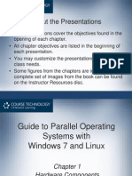 guide to parallel operating systems with win7 and linux chapter 1 presentation