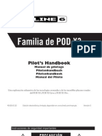 POD X3 Advanced Guide - Spanish ( Rev E ).pdf