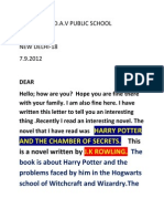 Letter Pranav Nair