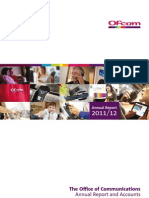OFCOM Annual Report 2011-2012