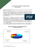 Baubericht 2008