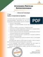 2013 1 Cienc Computacao 7 Analise Complexidade Algoritmos