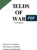 Fields of  War Core Rulebook